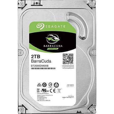 64 MB Cache, SATA 6Gb//s, 8,9 cm Seagate ST2000DM008 Interne Festplatte 3,5 Zoll 2 TB