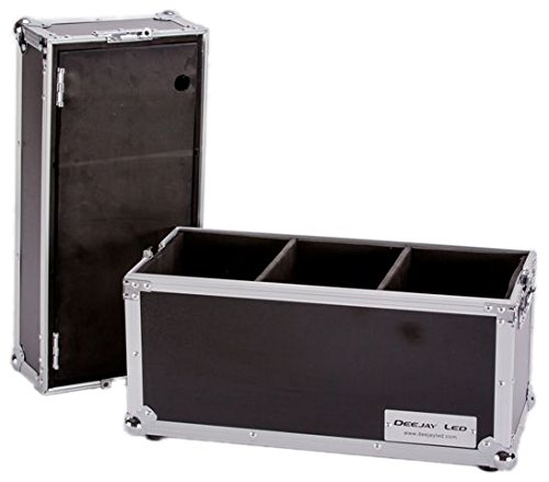 DEEJAYLED TBH Flight Microphone CASE for 18 MICS W/Storage Compartment (TBHMIC18S