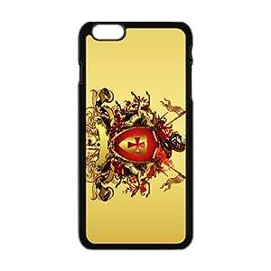 Creative Badge Pattern Custom Protective Hard Phone Cae For Iphone 6 Plus
