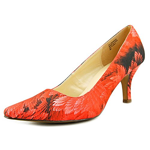 Red Floral Heels Clancy Scott Karen 4wS1qftS