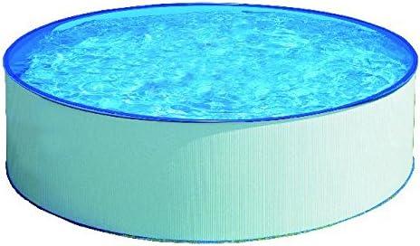Gre KITPR35501 - Piscina (Azul, Color Blanco, Montura, Alrededor ...