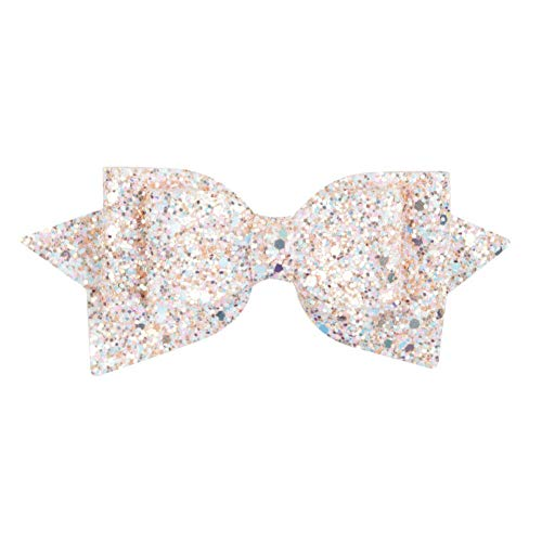MOPOLIS Sequins 5 alligator clip hair style Baby girls Nylon mesh bow hair clips -WE85 | Color - 105 ()