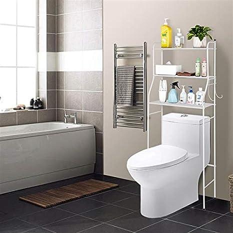 Cosway Over Toilet Shelf Organizer, 3-Tire Bathroom Over Toilet Shelf Unit  Towel Storage Rack [US STOCK]