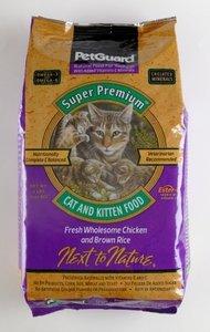 PetGuard Premium Chicken Dry Cat Food, 8-Pounds