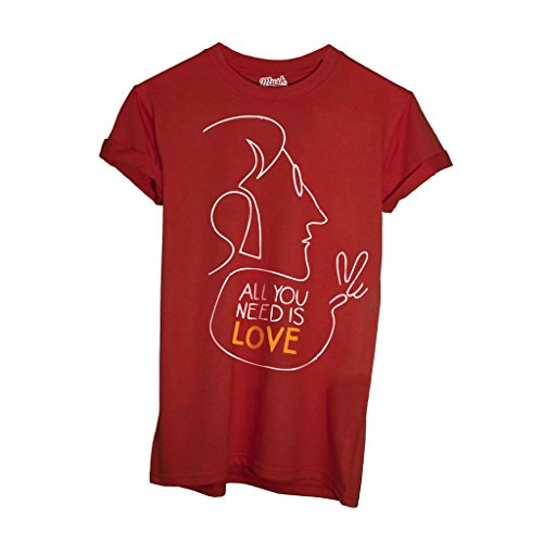 T-Shirt All You Need Is Love Musica John - MUSH by Mush Dress Your Style