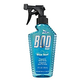 BOD Man Fragrance Body Spray, Blue Surf, 8 Fluid Ounce