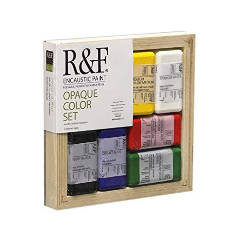R&F Encaustic Paints Opaque Colors, Set of 6