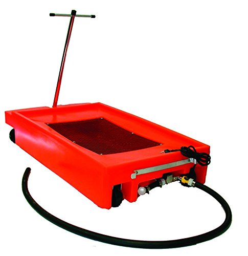 National-Spencer 237 Lowboy Drain with 2 Wheels, 2 Casters, Handle and Pump, 17 gal by National-Spencer, Inc.