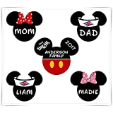 Personalized Disney Inspired Classic Mickey Magnet. Cruise Door Magnet. Mickey Minnie Magnet. Stateroom Door Decoration.