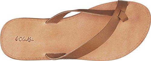 Bone Bone Women's Loea Mustard Sandal Mustard OluKai Leather OgwxAqqC