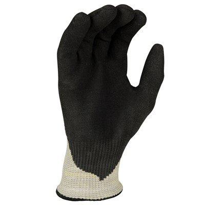NS KutShieldz 4 Polyurethane Polyurethane Palm Coated Level A4 Cut Resistant Gloves, X- Large - A34 Framing