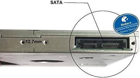 rinbers (2,5, 12,7 mm 2 nd HDD SATA a SATA adaptador de disco duro ...