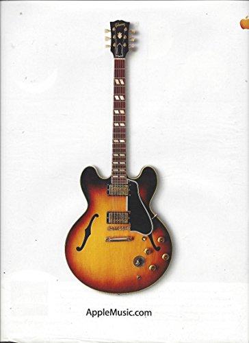 2003 Apple - MAGAZINE ADVERTISEMENT For 2003 Apple Music Website Electric Guitar