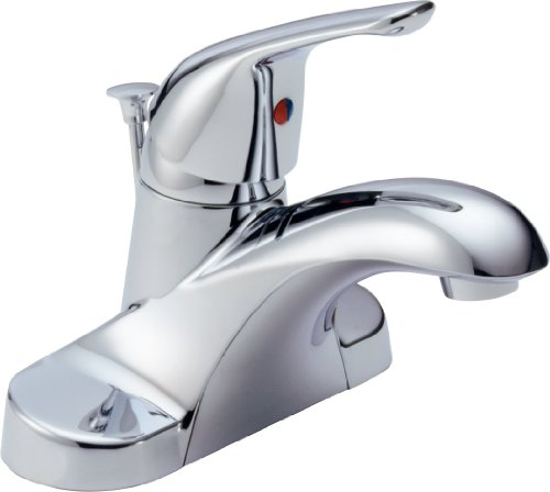 Bathroom Sink Faucet Parts Delta Faucets Bathroom Sink: Delta Foundations Single Handle Centerset Lavatory Faucet