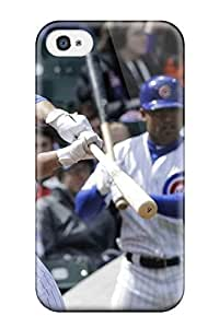 Noar-Diy DanRobertse case cover Protector Specially Made For Iphone HjRB4dycZzI 4/4s Chicago Cubs