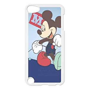 iPod Touch 5 Case White Mickey Mouse 6 Bmsba