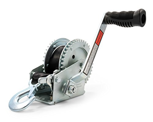 Camco 50000 Winch - 2,000 lb with 20' Strap