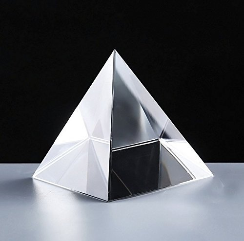 Sharing Star 1 Piece Clear Crystal Glass Pyramid Prism Pendant Suncatcher