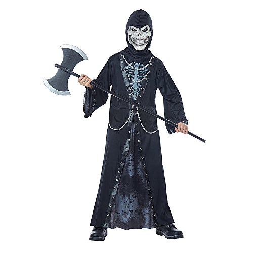 Totally Ghoul Crypt Master Medium Costume, Boy's Size Medium, ages 8-14