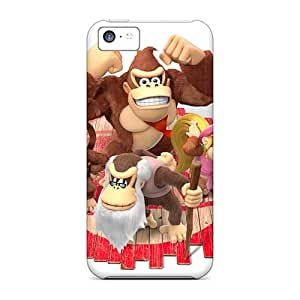 Shock Absorption Hard Phone Covers For Iphone 5c With Support Your Personal Customized HD Cartoon Movie 2015 Skin VIVIENRowland