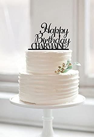 Kuchendekoration Happy Birthday Kuchen Topper Kuchen Topper Fur