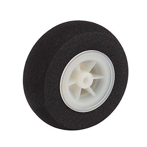 3.5 Mm Shaft - Uxcell a16040700ux0139 Foam 3.5mm Shaft Hole RC Plane Tail Tire Light-Weight Sponge Wheel Metric Size 50mm Diameter
