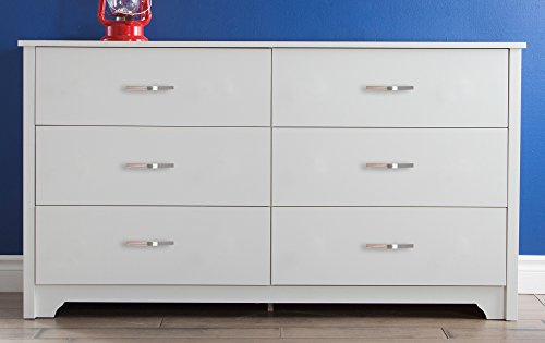 South Shore Furniture Fusion Dresser, Pure White by South Shore