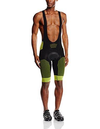 X-Bionic Functional You Biking Effektor Power OW Adult Bib Shorts Endurance Multi-Coloured Black/Yellow Size:Medium by X-Bionic