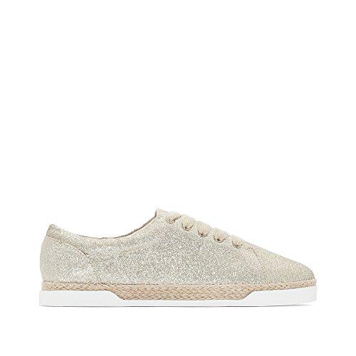 La Redoute Collections Frau Sneakers Mir Pailletten, Sisalsohle Gre 41 Gelb