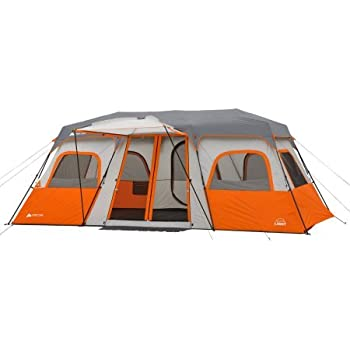 Ozark Trail 18  x 10u0027 Instant Cabin Tent with Integrated Led Light Sleeps  sc 1 st  Amazon.com & Amazon.com : Ozark Trail 18