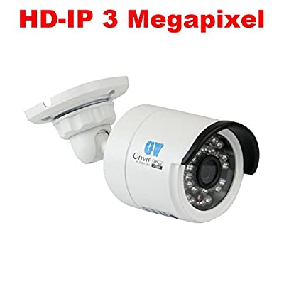New Arrivals 32 Channel H.265 NVR 3-Megapixel (2048 x 1536) Network Video Security Camera System - 32x 3MP 1536p @ 30fps Realtime POE Weatherproof Onvif Bullet IP Cameras, 80ft Night Vision