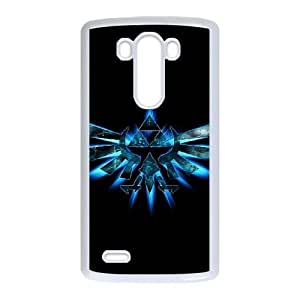 Classic Fashion The Legend of Zelda LG G3 Cell Phone Case White Trendy Creative funny LOHL3HTY824540
