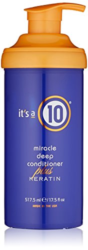 Deep conditioner for natural hair. It's a 10 Haircare Miracle Deep Conditioner Plus Keratin, 17.5 fl. oz. #naturalhaircare