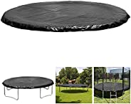 6 8 10 12 13 14 15 16FT Trampolines Weather Cover Rain Snow Sun Shade Protection Cover Rainproof UV Resistant