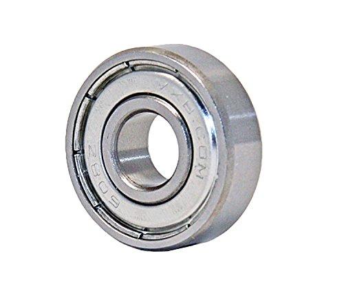 - VXB Brand, One 608ZZ Bearing 8x22x7 Shielded Miniature Ball Bearing 608Z ID Bore 8mm OD Diameter 22mm