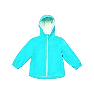 London Fog Girl's Rain Jacket Aqua Size 5