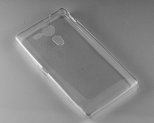 official photos ddb67 ba33f Purple Eyes Generic Crystal Clear Transparent Silicon Back Case Cover Pouch  for Sony Xperia Sp M35H
