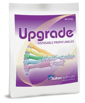 (Sultan 30506 Upgrade Disposable Multi-Color Soft Cup Prophy Angle (Pack of 1200))