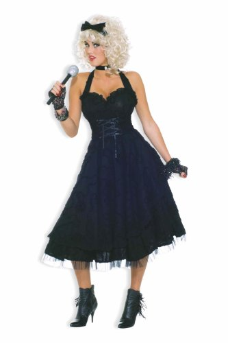 Price comparison product image Forum To The Maxx Collection Girlie Costume, Black, Standard