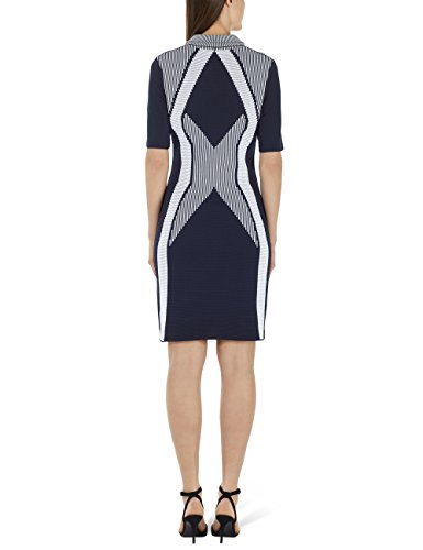 Cain Blue Marc Sports 395 Midnight Donna Multicolore Vestito AWd7H1