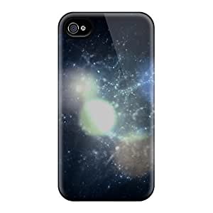 Top Quality Cases Covers For Iphone 4/4s Cases With Nice Space Bokeh Appearance