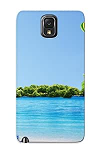 New Seagull And Hot Air Balloons Over The Sea Tpu Skin Case Compatible With Galaxy Note 3/ Perfect Design