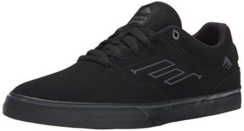 Emerica The Reynolds Low Vulc - Zapatos para hombre Black - Black/Black/Black