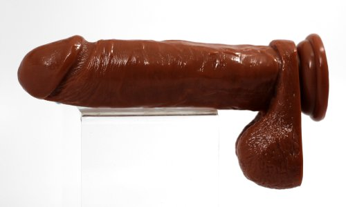 Blush Novelties Perfectly Thick 6 Inch Cock, Brown