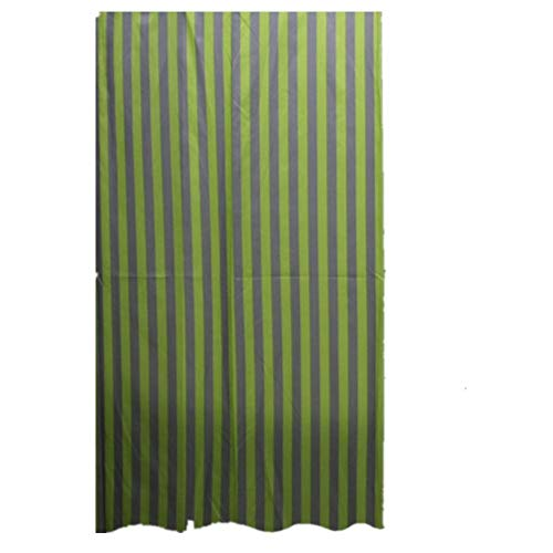 Bathroom Curtain 1pcs Shower Curtain Polyester Material Stripe Mildewproof Thickened Hotel Toilet Shade Super Quality Opaque Bathroom Amenities