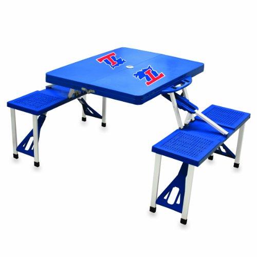NCAA Louisiana Tech Bulldogs Portable Picnic Table