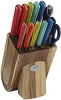 Fiesta 13-Piece Merengue Cutlery Block Set