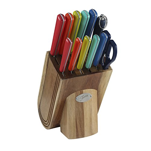 Fiesta 13 Piece Cutlery Set With Block, -