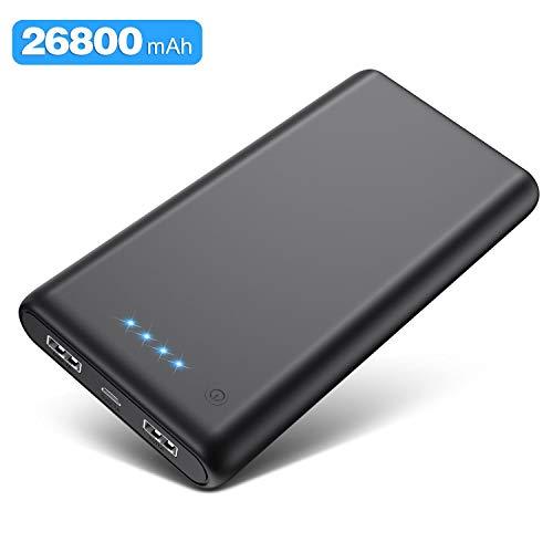 Kilponen-Batterie-Externe-Grosse-Capacit-26800mAh-Power-Bank-Charge-Rapide-avec-2-Ports-USB-Sortie-Max-21A-Chargeur-Batterie-Portable-Affichage-4-LED-Ultra-Compact-pour-Tlphone-PortableTablette