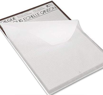 اشتري اونلاين بأفضل الاسعار بالسعودية سوق الان امازون السعودية دفتر كانسون ورق كالك A3 شفاف لتتبع الرسم 50 ورقة 90 غرام